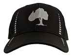 Black/Grey Performance Cap