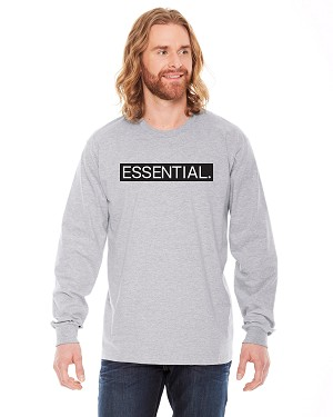 American Apparel Unisex Fine Jersey Long-Sleeve T-Shirt - Essential