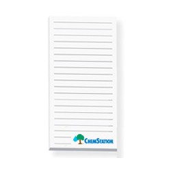 "Non-Adhesive 25 Sheet Notepad - 3"" x 6"""